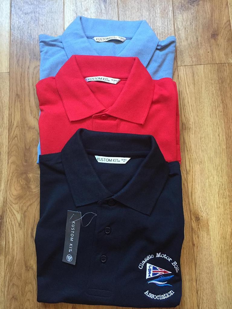 CMBA Polo Shirts