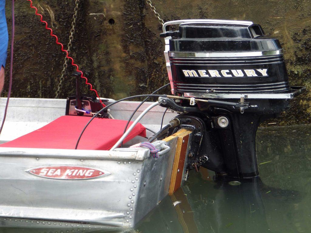 Classic Boat - Mercury Engine