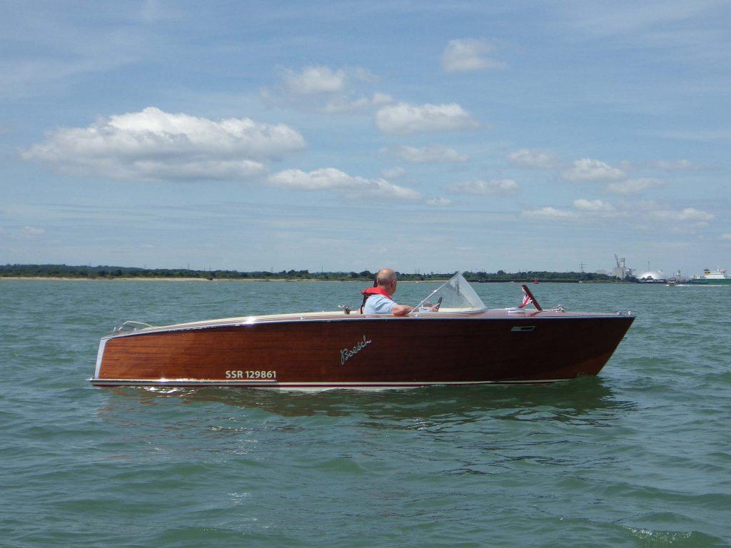 CMBA Boat on Lake