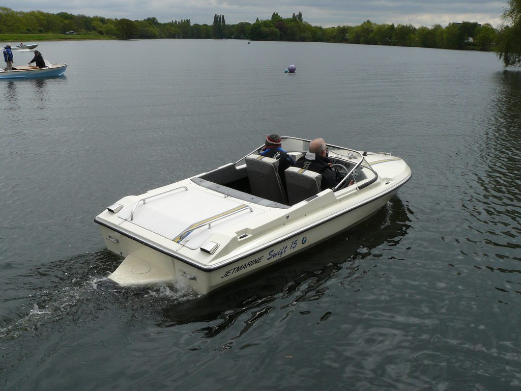 Jetmarine jet boat cmba classic boat rally