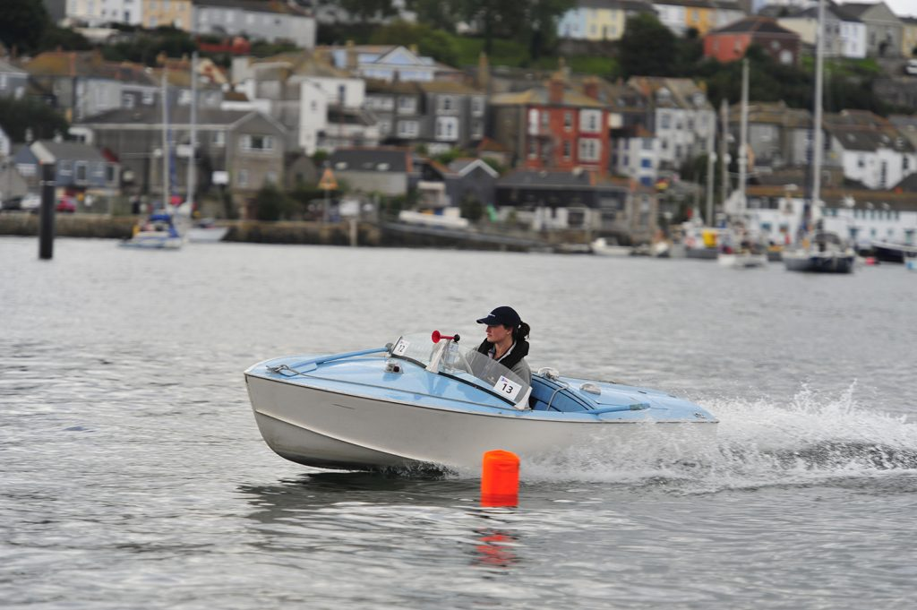 Albatross Classic Speed Boat Ski Boat at Falmouth 2010 CMBA Rally