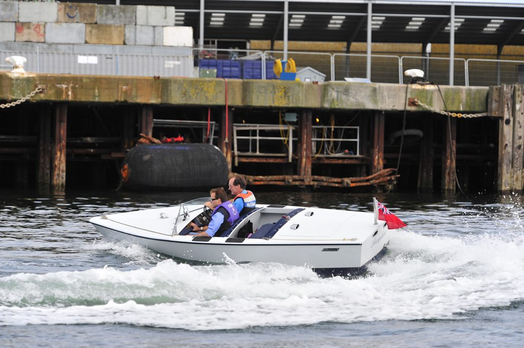 Albatross Continental at Falmouth Classic Motor Boat Rally