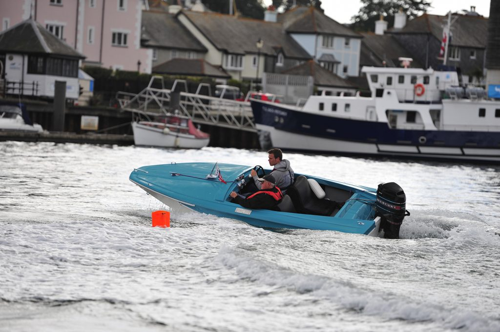 Birchwood Sprite at Falmouth Classic Motor Boat Rally