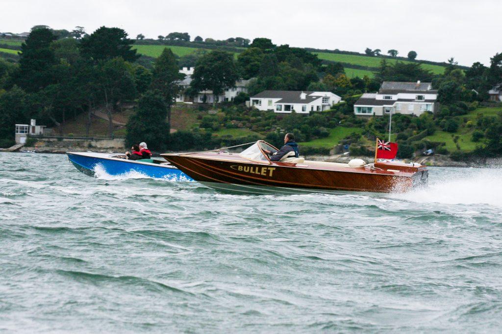Bullet Tremlett 18 at Falmouth Clsssic Motor Boat Rally