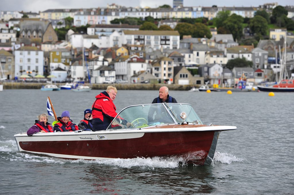 Century Classic Wooden Boat at Falmouth CMBA Rally