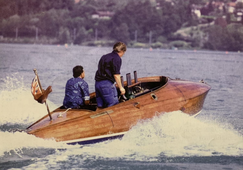 Jazz Vintage 1912 Wooden Hydroplane