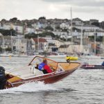 Kgarla Wooden Speedboat Poncelet in Falmouth 2010