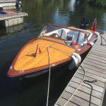 Kgarla Boat for Sale Poncelet Wood Boats for sale UK
