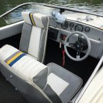 JetMarine Swift 15 – 1985 with BMW 190hp inboard and PP 65 Jet Drive with Trim For Sale